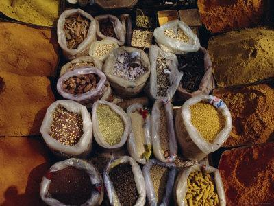 Spices for Sale, India, Asia