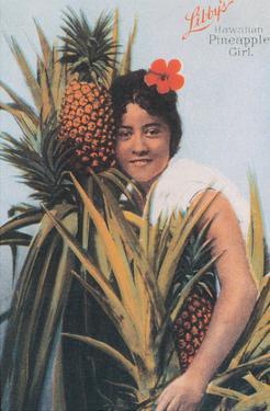 Libby's Hawaiian Pineapple Girl