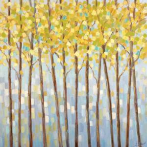 Glistening Tree Tops by Libby Smart