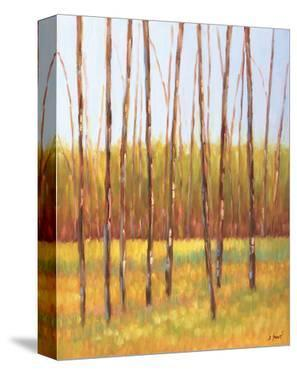Tall Trees I (left) by Libby Smart