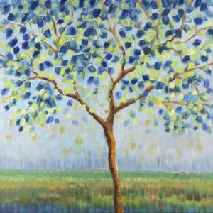 Tree in Blue by Libby Smart