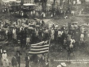 Liberia, Procession for the Inauguration of the President