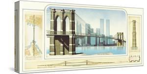 Brooklyn Bridge, New York City by Libero Patrignani
