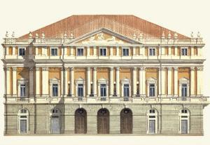 La Scala by Libero Patrignani
