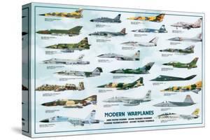 Modern Warplanes by Libero Patrignani