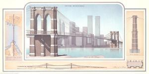 New York - Brooklyn Bridge by Libero Patrignani