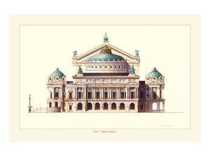 Paris, Opera Garnier by Libero Patrignani