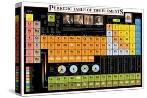 Periodic Table of the Elements by Libero Patrignani