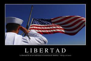 Libertad. Cita Inspiradora Y Póster Motivacional