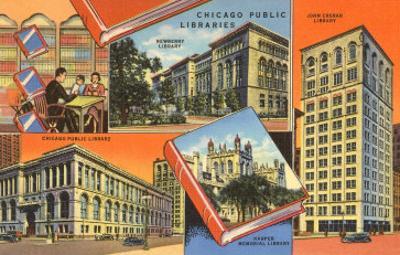 Libraries, Chicago, Illinois