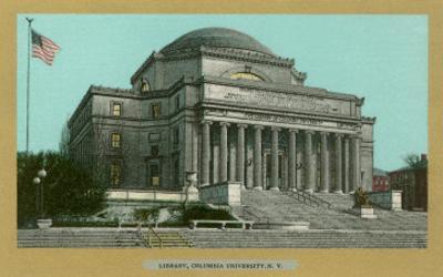 Library, Columbia University, New York