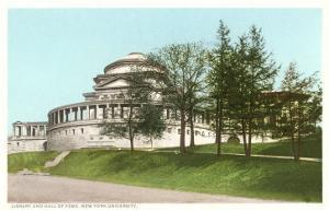 Library, New York University, New York City
