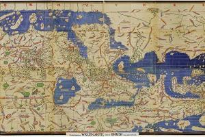 Al-Idrisi's World Map, 1154 by Library of Congress