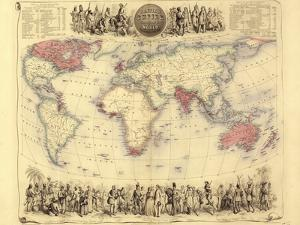 British Empire World Map, 19th Century by Library of Congress