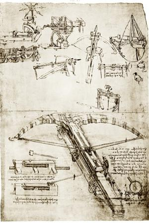Da Vinci's Crossbow by Library of Congress
