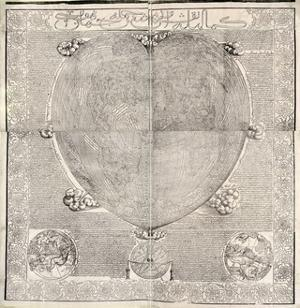 Haci Ahmed's World Map, 1560 by Library of Congress