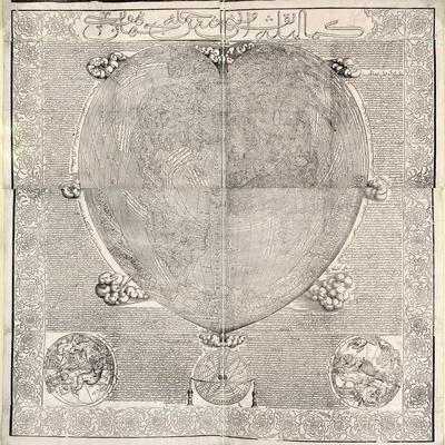 Haci Ahmed's World Map, 1560