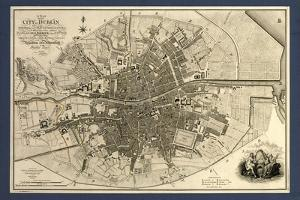 Map of the City of Dublin, 1797 by Library of Congress