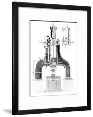 Nasmyth's Steam Hammer, Artwork by Library of Congress