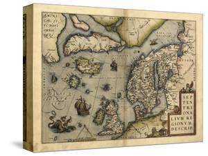 Ortelius's Map of Northern Europe, 1570 by Library of Congress