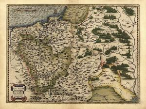 Ortelius's Map of Poland, 1570 by Library of Congress