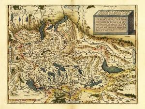 Ortelius's Map of Switzerland, 1570 by Library of Congress