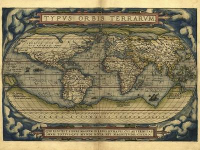 Ortelius's World Map, 1570 by Library of Congress