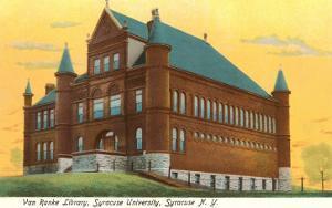 Library, Syracuse University, New York