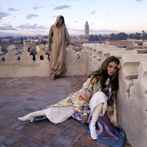Vogue - January 1970 - Talitha and Paul Getty, Jr. in Morocco by Lichfield Patrick