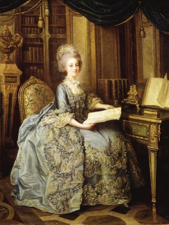 Marie Antoinette, 1755-93 Queen of France, as Dauphine by Lié-Louis Perin-Salbreux