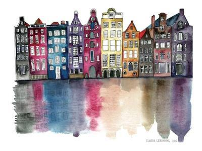 Amsterdam by Liebenberg Claudia