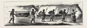 Lieutenant Cameron in Central Africa, Karimbu (Chief Near Kwakasongo) and His Train, 1876