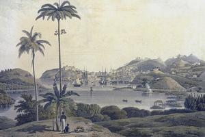 A View of the Town of St. George on the Island of Grenada, Taken from the Belmont Estate,… by Lieutenant-Colonel J. Wilson