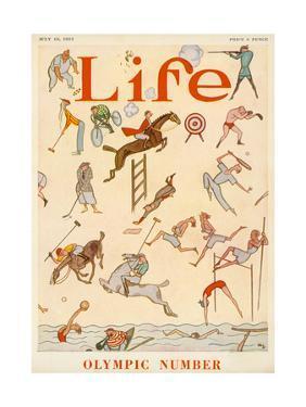Life, 1924 Olympics