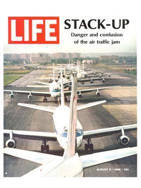 LIFE Air traffic Jam 1968