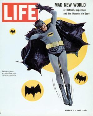 LIFE Batman Mad New World 1966