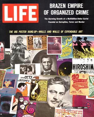 LIFE Big Poster Hang up 1967