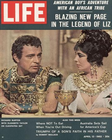 LIFE Burton-Taylor Cleopatra