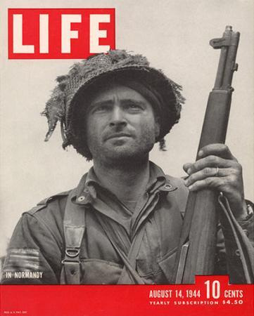 LIFE GI in Normandy 1944