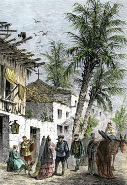 Life in Saint Augustine, Florida, When Part of New Spain
