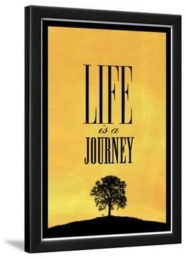 Life is a Journey Art Print Poster