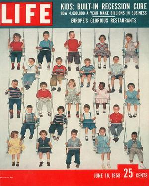 LIFE Kids-Recession Cure 1958