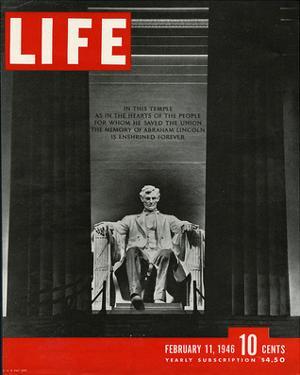 LIFE Lincoln Memorial 1946