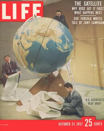 LIFE Plotting Sputnik Orbit