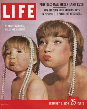 LIFE Shirley MacLaine & Daughter
