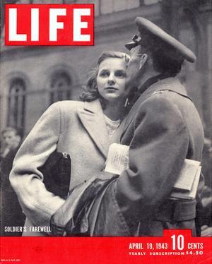 LIFE Soldier's Farewell 1943