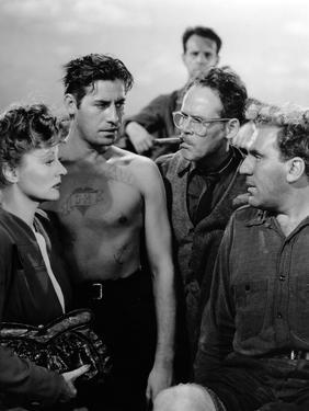 Lifeboat by Alfred Hitchcock with Tallulah Bankhead, John Hodiak, Henry Hull and William Bendix, 19