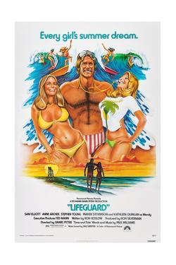 LIFEGUARD, center: Sam Elliott, 1976.