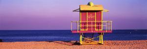 Lifeguard Hut, Miami Beach, Florida, USA
