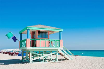 Lifeguard Tower South Beach FL